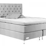 En sengegavl gør din seng flottere (foto sengespecialisten.dk)